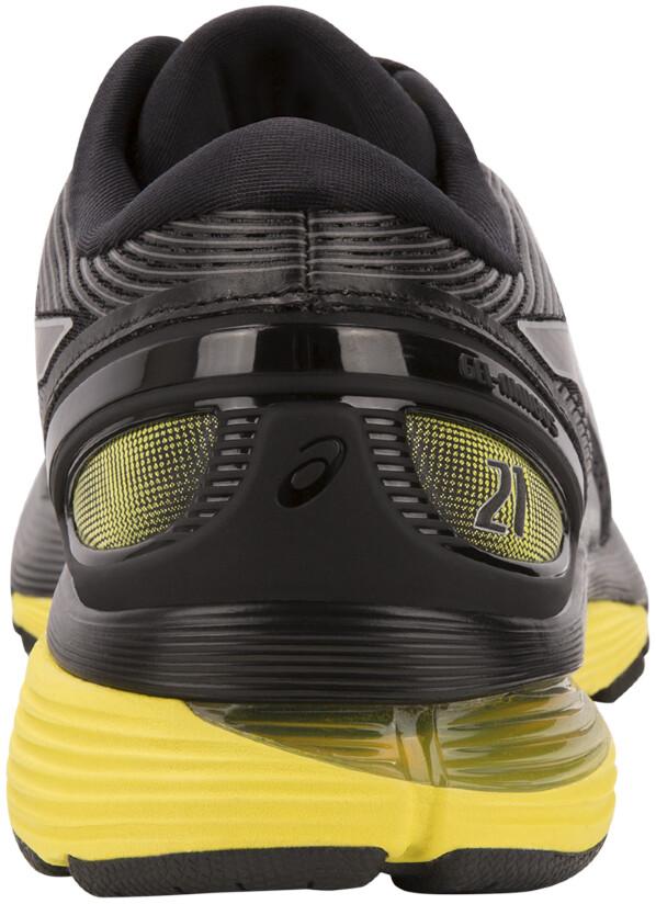 34934bafa23c asics Gel-Nimbus 21 Chaussures Homme, black/lemon spark sur CAMPZ !